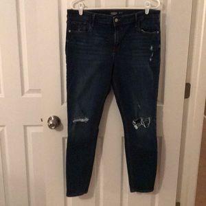 Women's rockstar super skinny jeans